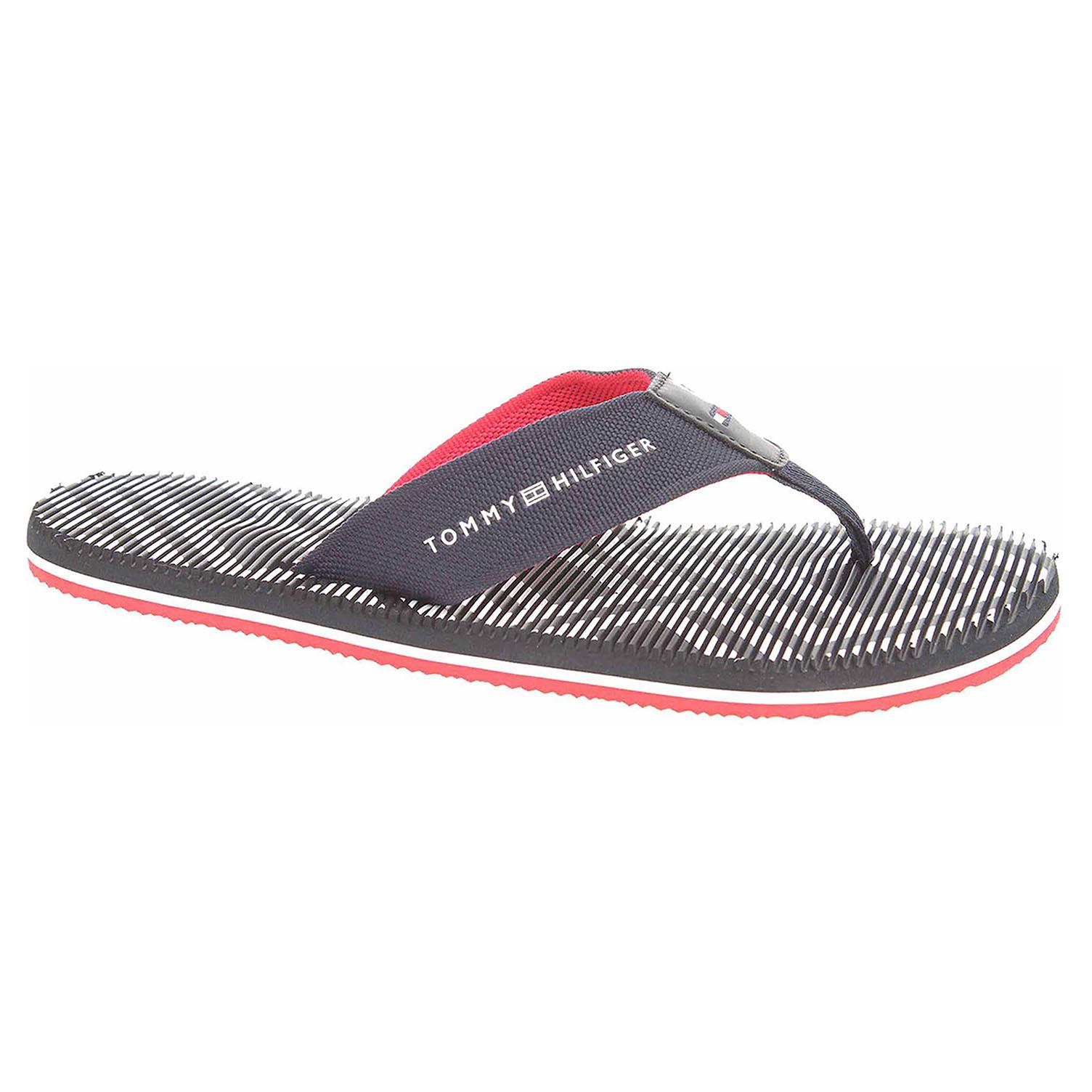 Ecco Pánské plážové pantofle Tommy Hilfiger FM0FM01366 midnight 24500170