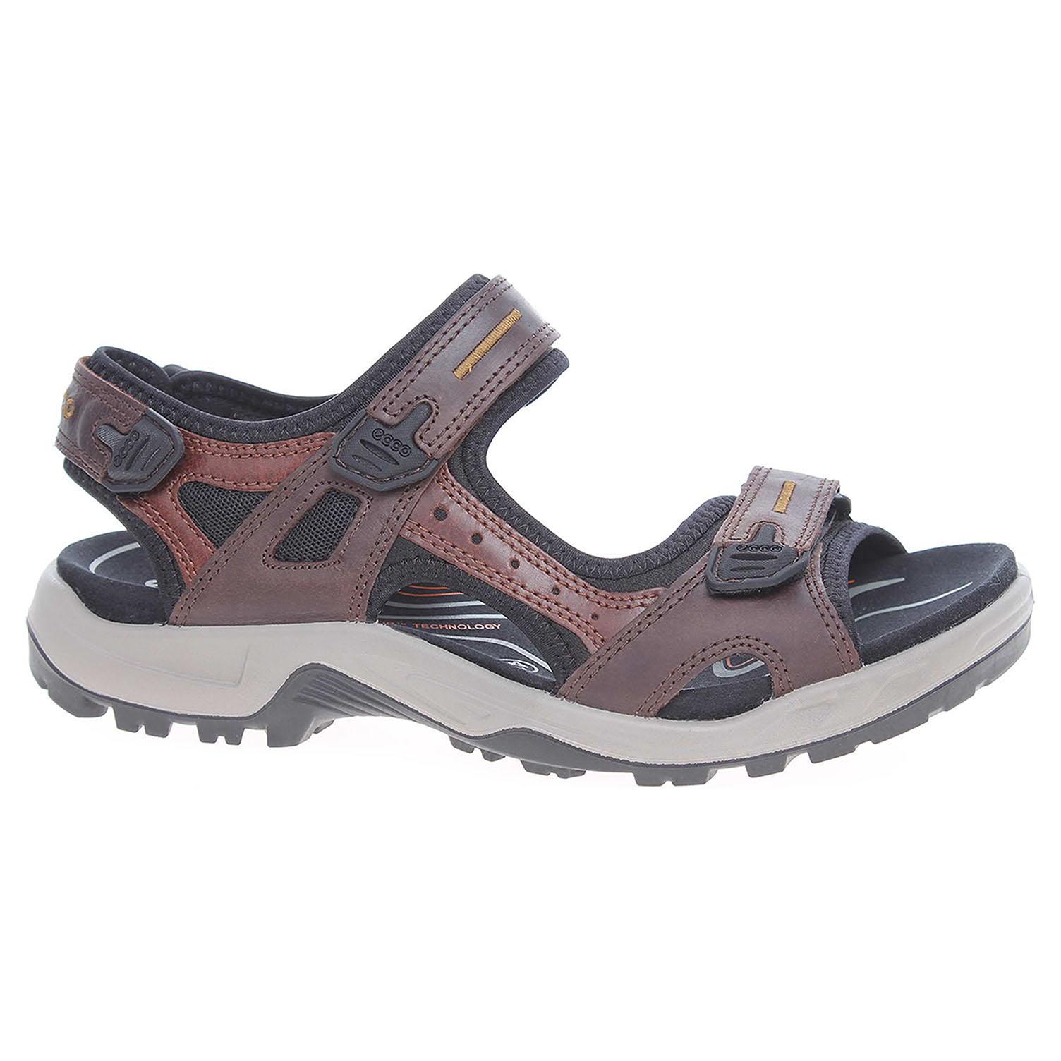 49e7848b8e72 Ecco Pánské sandály Ecco Offroad 06956456401 hnědé 24700249