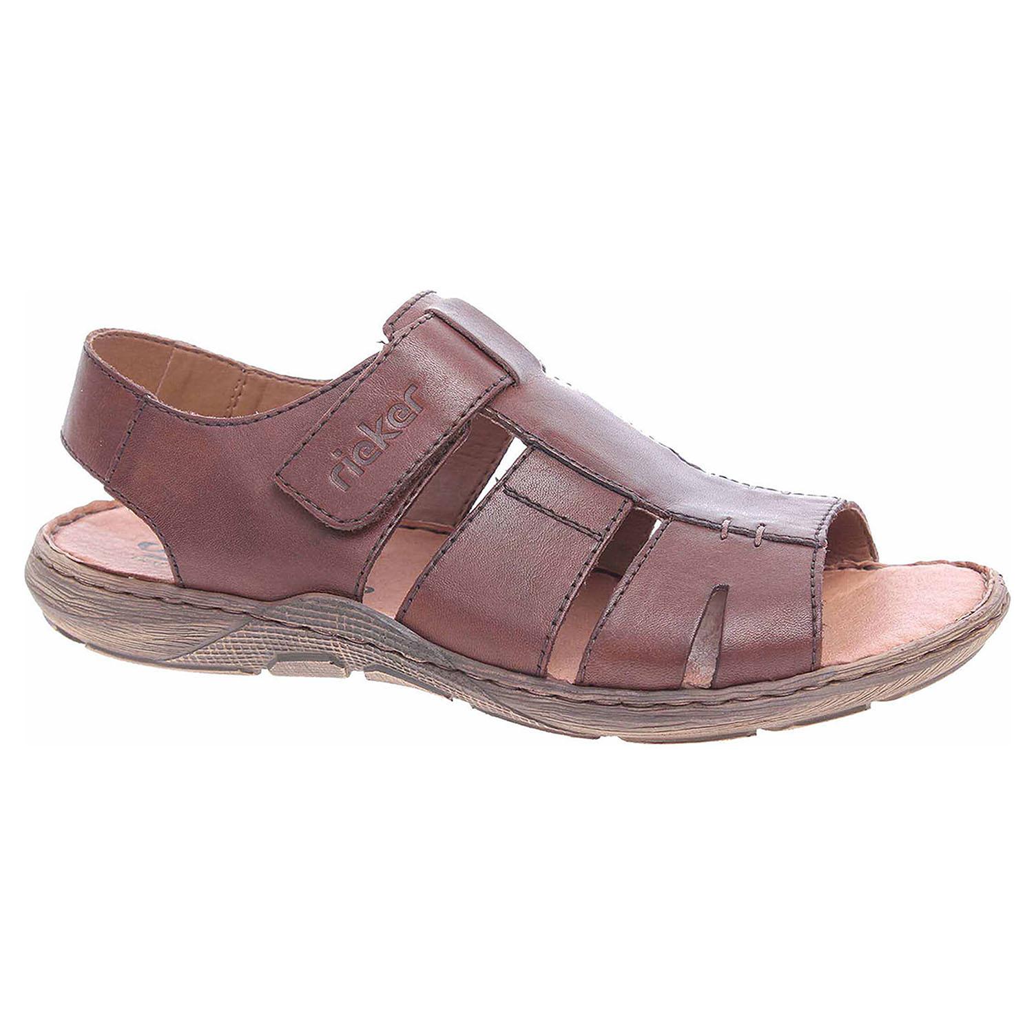 9de96e626acd Ecco Pánské sandály Rieker 22073-25 braun 24700262