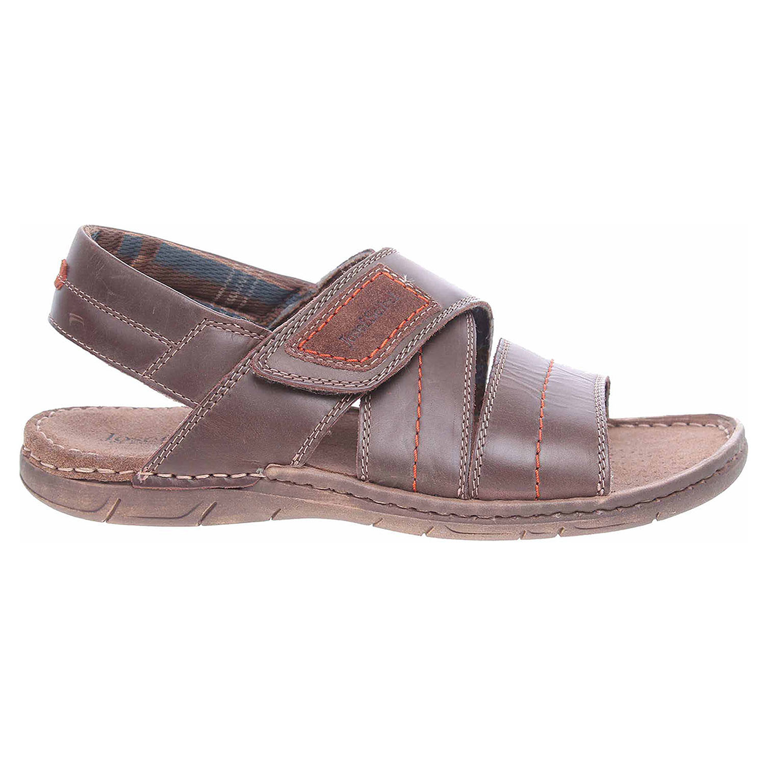 Ecco Josef Seibel pánské sandály 43249 TE787330 moro 24700263 ce11c7f7f8