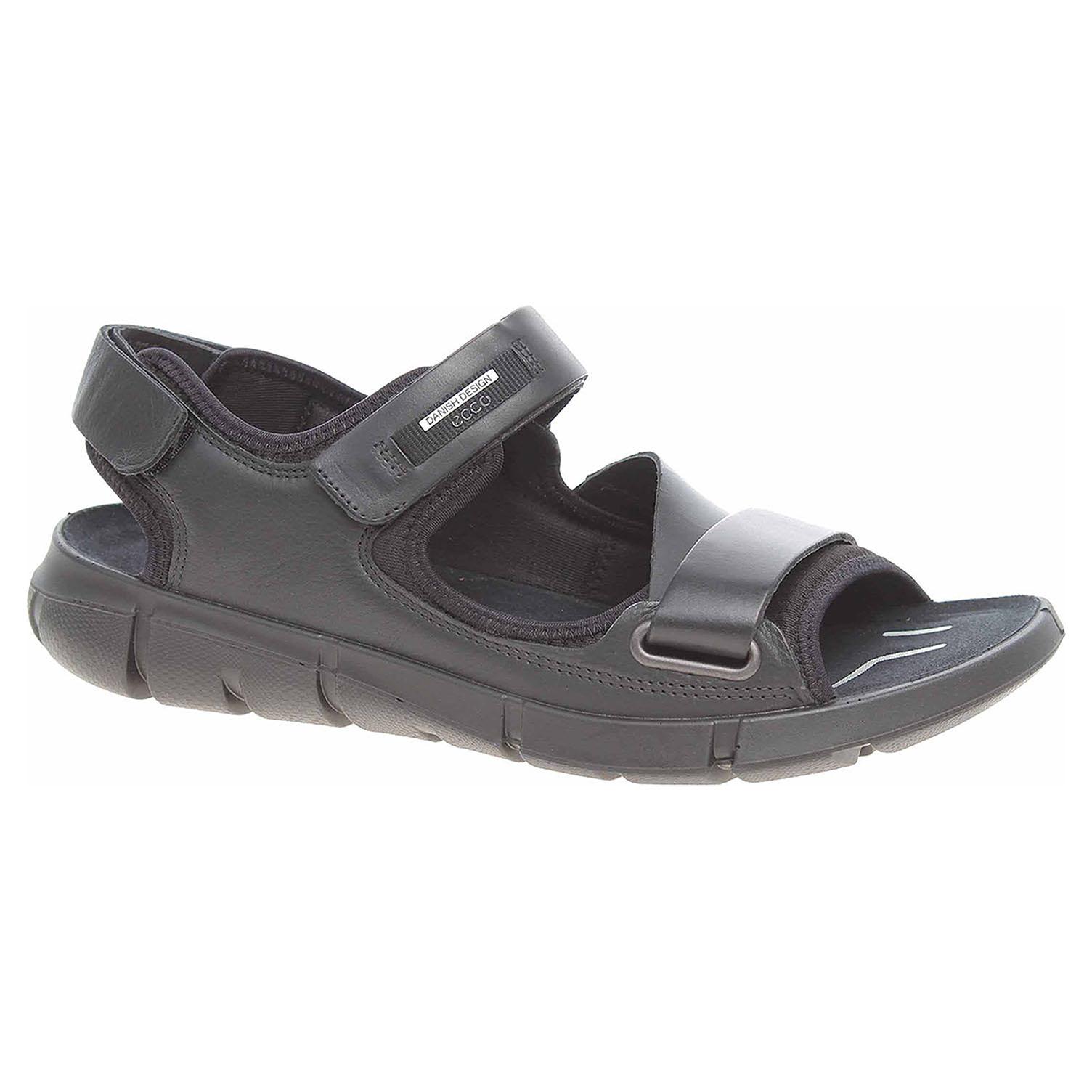 32a159b7bd32 Ecco Pánské sandály Ecco Intrinsic Sandal 84205451052 black-black 24700266