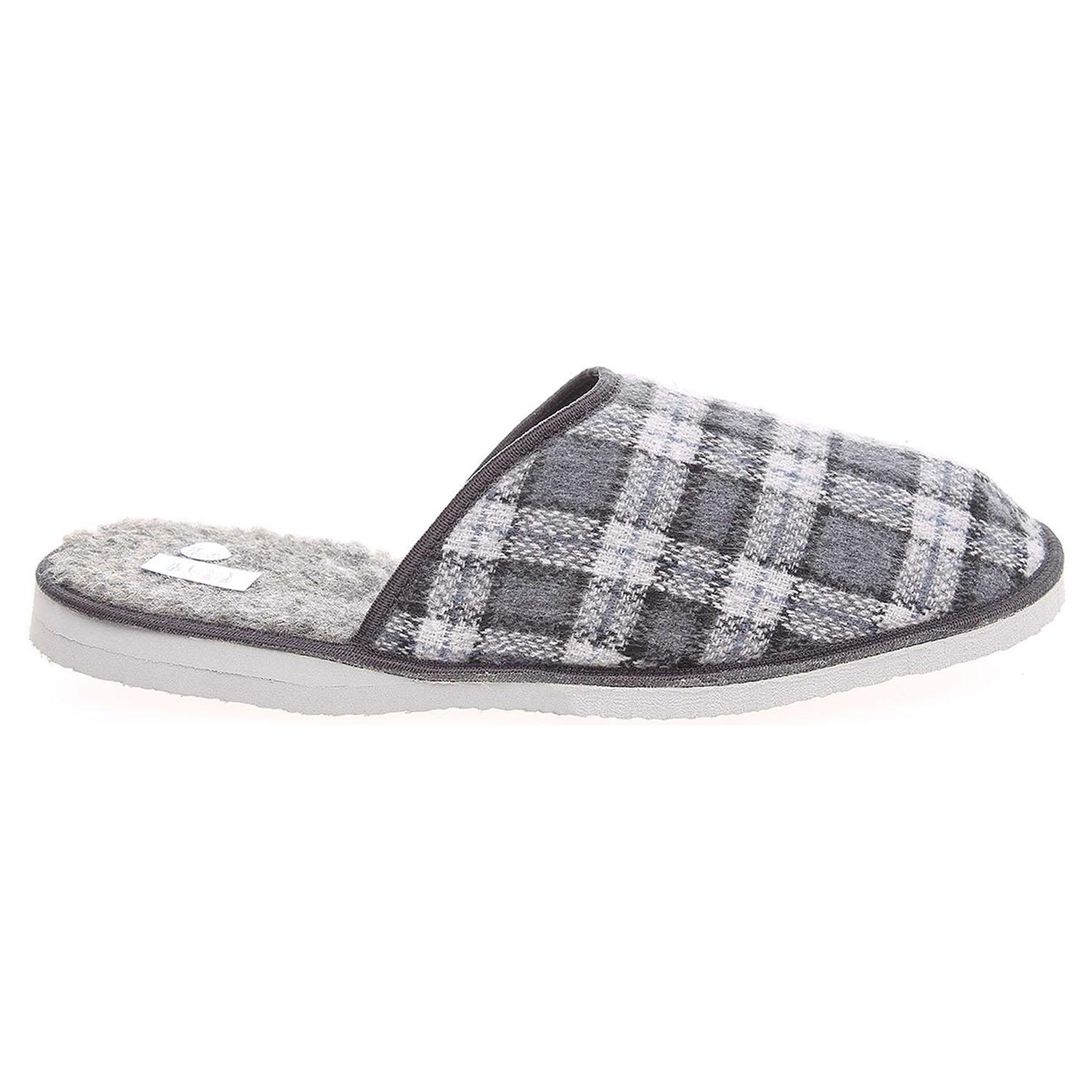 Pánské domácí pantofle 1111.00 šedé 44
