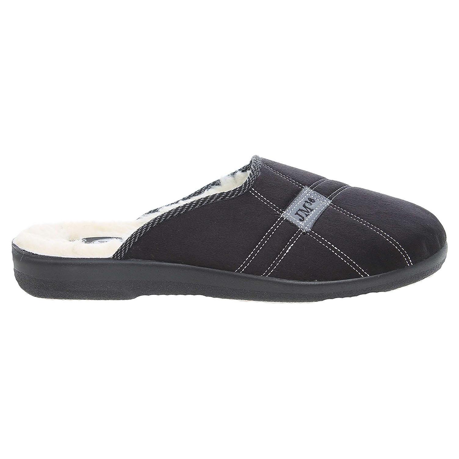 Rogallo pánské domácí pantofle 4110-006 černé 41