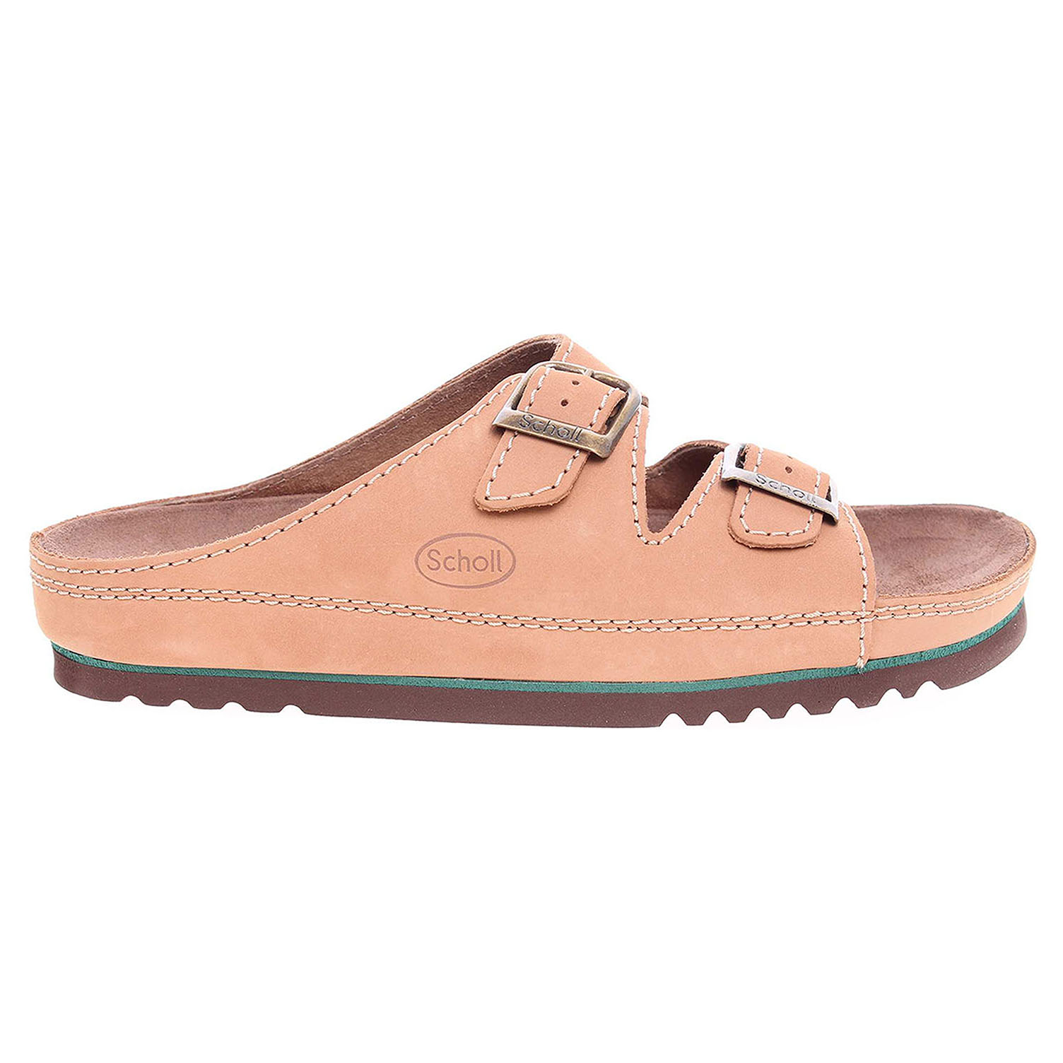 Ecco Scholl pánské pantofle F21531 1016 Air Bag beige 24800256