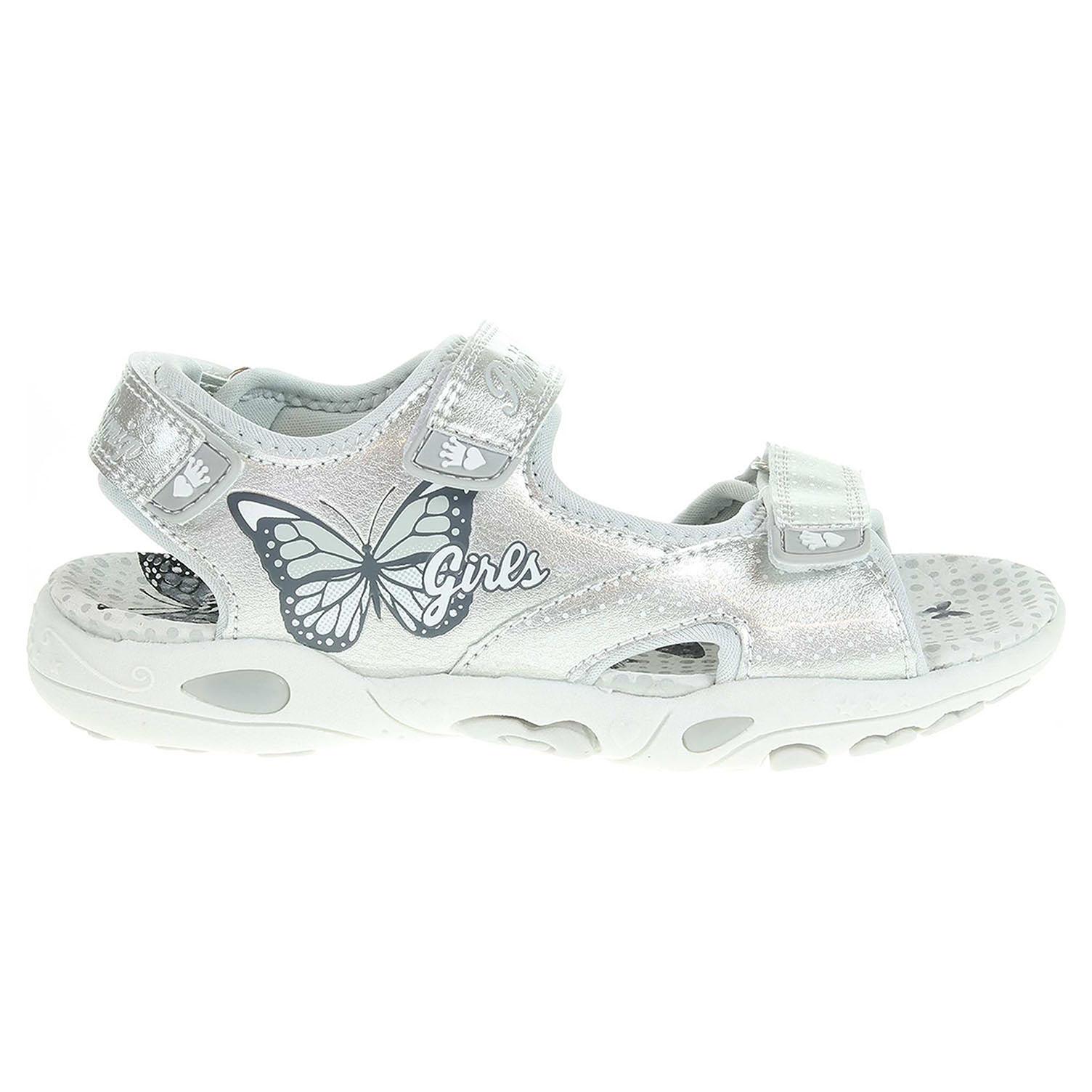 88bb52af21d Ecco Primigi dívčí sandály 1459400 argento 26100131