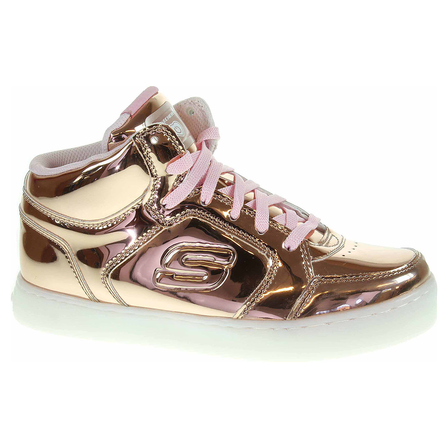 Ecco Skechers S Lights Energy Lights Dance-N-Dazzle rose gold 26200123