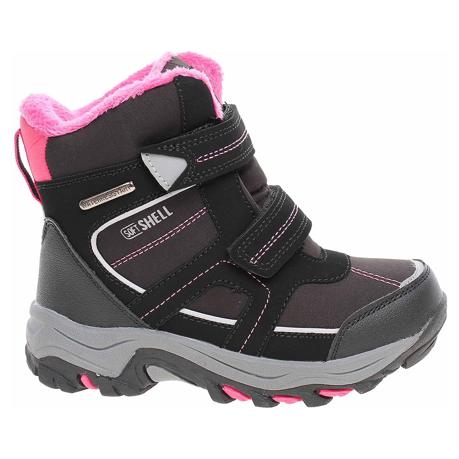 Ecco Peddy dívčí sněhule P1-631-29-01 black-pink 26700061 220ae5dfa58
