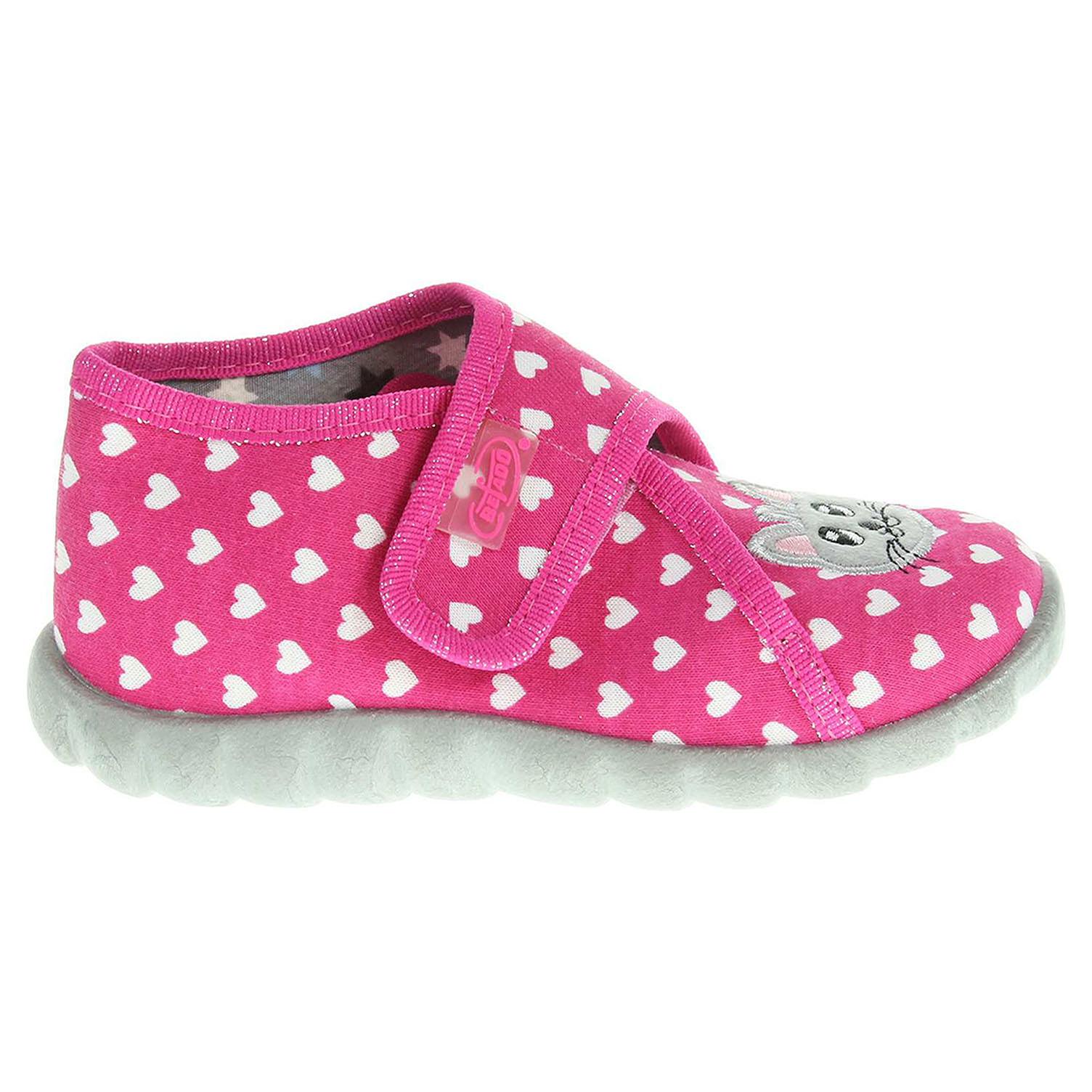 Befado dívčí bačkory 455P040 růžové 20