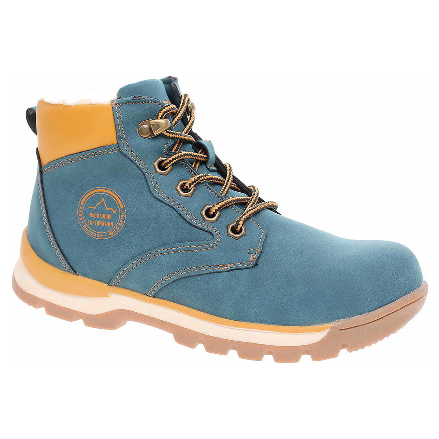 102ac46402a72 Ecco Chlapecká kotníková obuv Peddy P1-536-37-04 navy 29400106