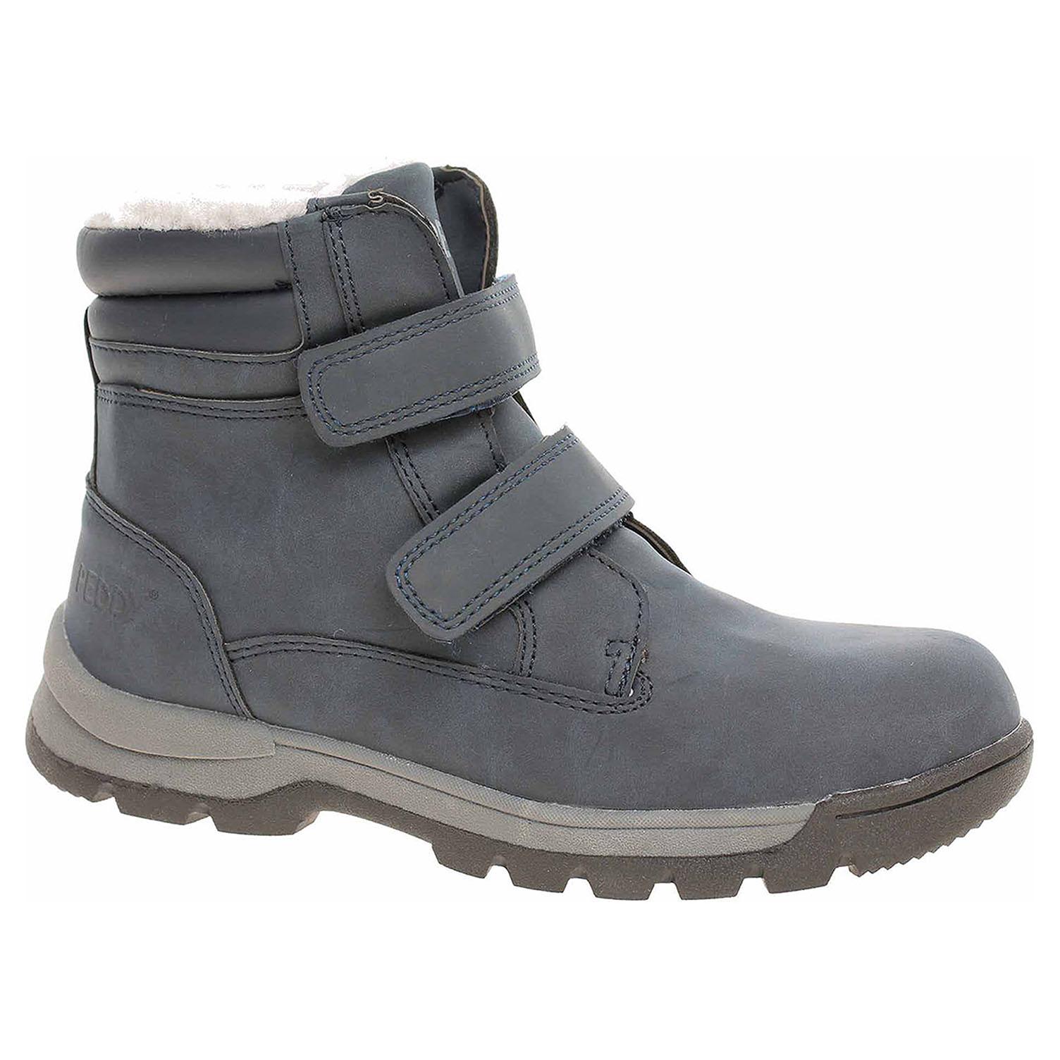 8084390826911 Ecco Chlapecká kotníková obuv Peddy P1-536-37-05 navy 29400107
