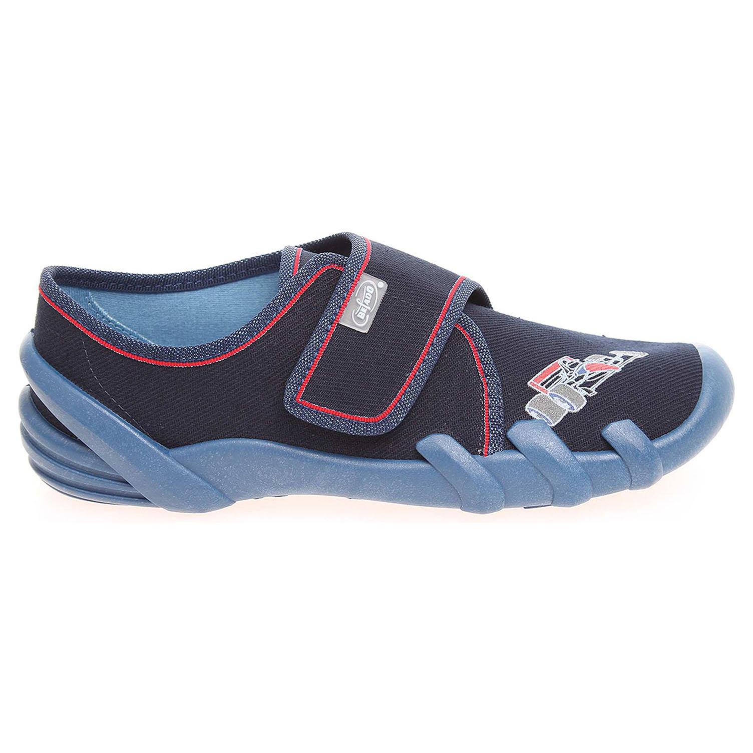 Befado chlapecké bačkory 273Y139 modré 32