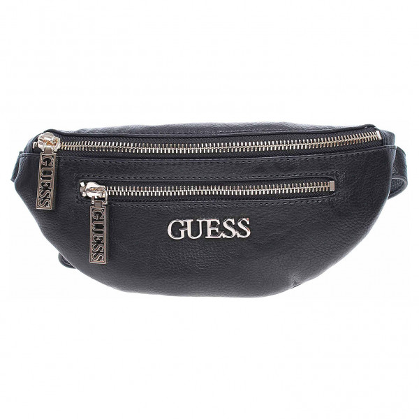 detail Guess dámská ledvinka Manhattan mini black