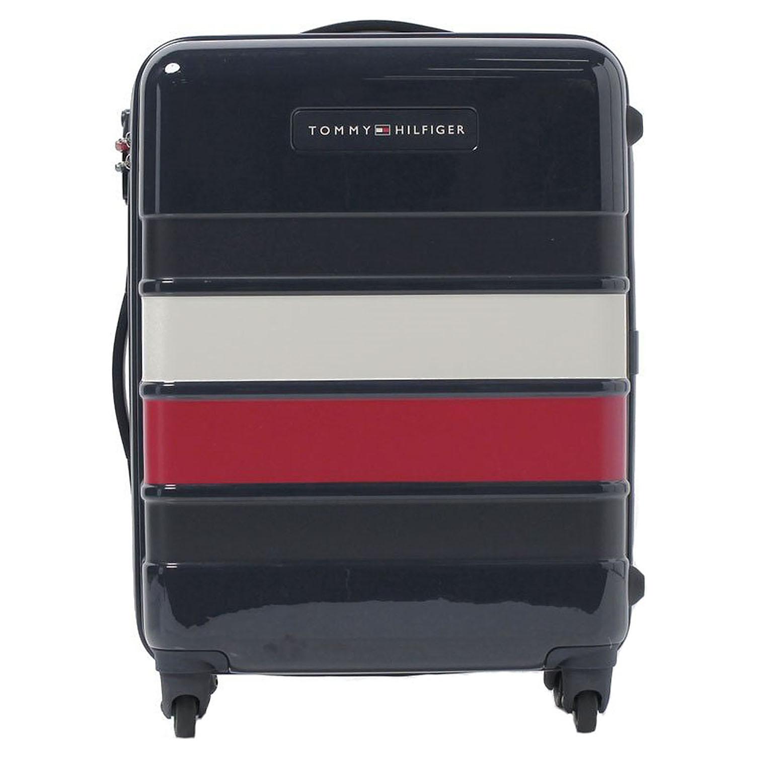 5684897130 detail Tommy Hilfiger kufr střední AU0AU00017 Tommy Classic Hard Case 67 l  modrý
