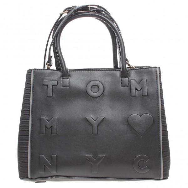 detail Tommy Hilfiger dámská kabelka AW0AW03829 černá 1b8f9b6be95