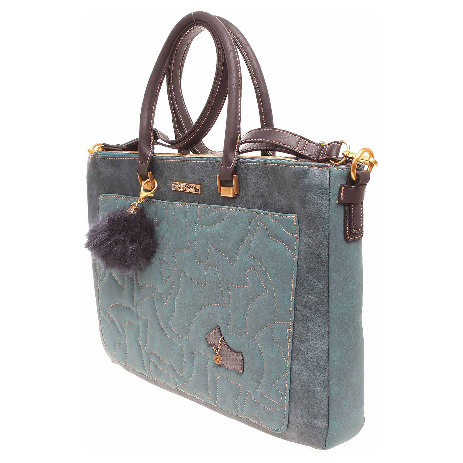 Dogsbybeluchi dámská kabelka 25414-1 azul  3e1ad7db81