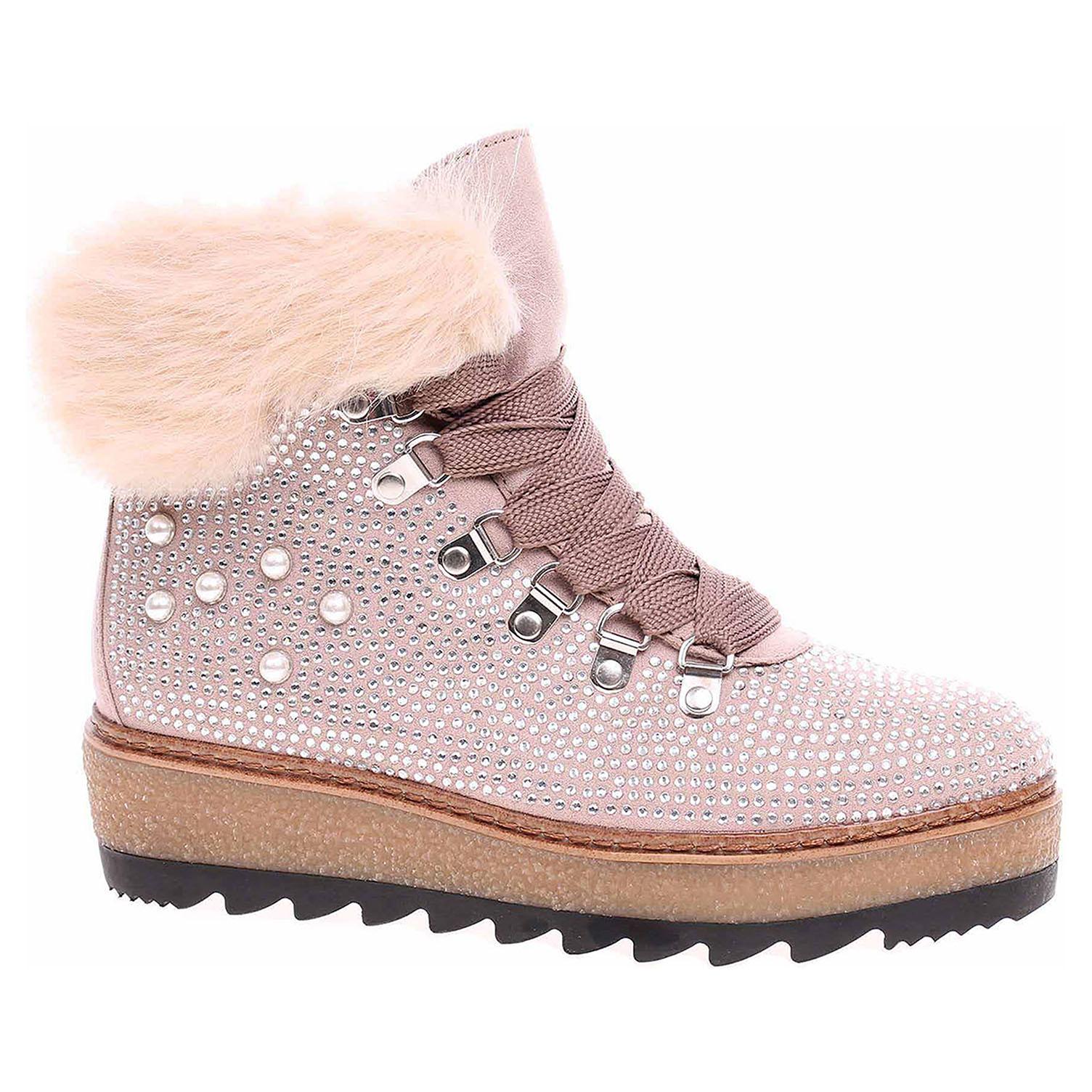 7ef4fd3edef53 Dámská kotníková obuv Tamaris 1-26722-21 shell | Rejnok obuv