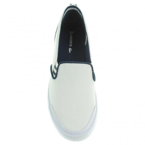 e495e8a8897 detail Lacoste Lancelle Slip-On dámská obuv bílá