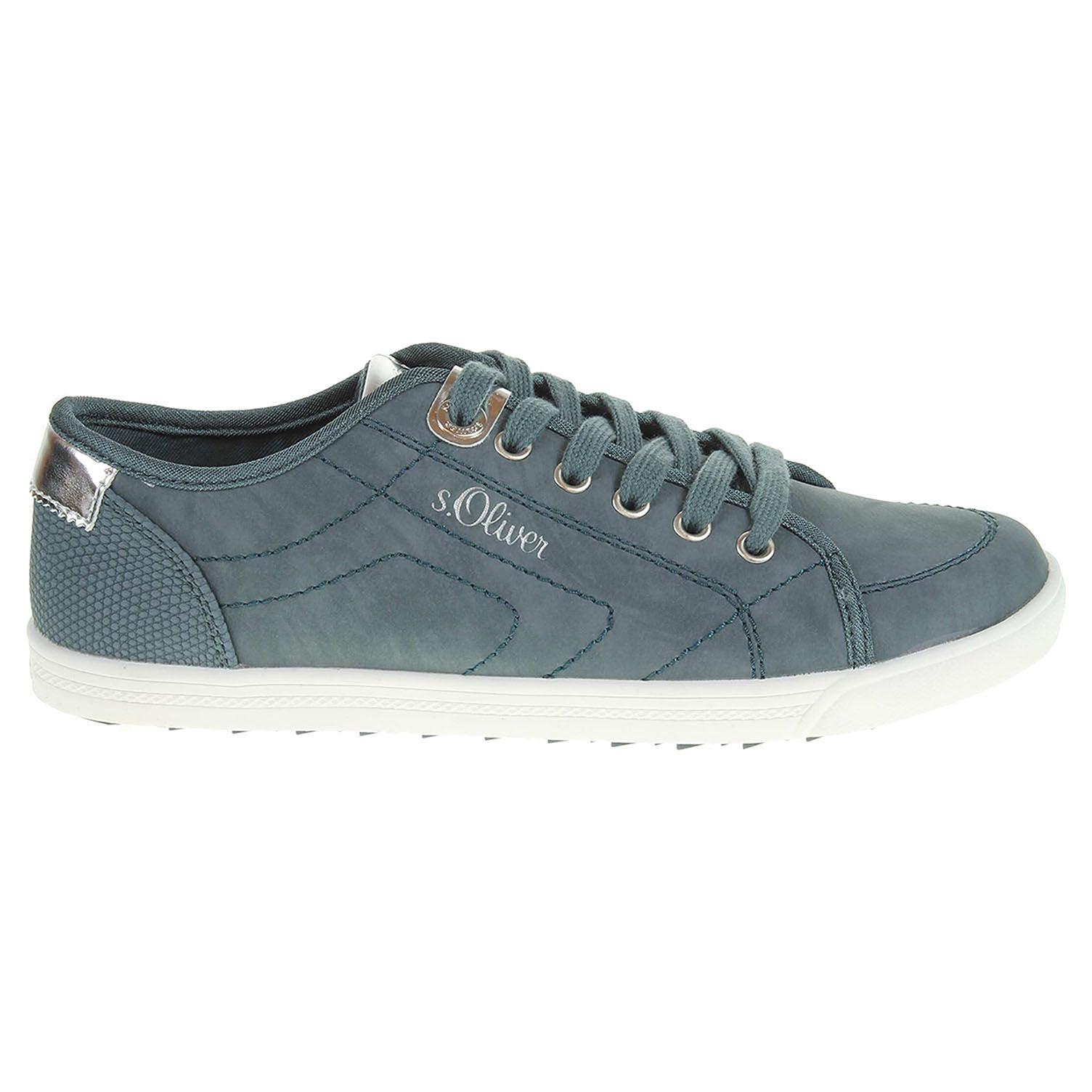 47a3c0c1c3c s.Oliver dámská obuv 5-23631-28 modrá
