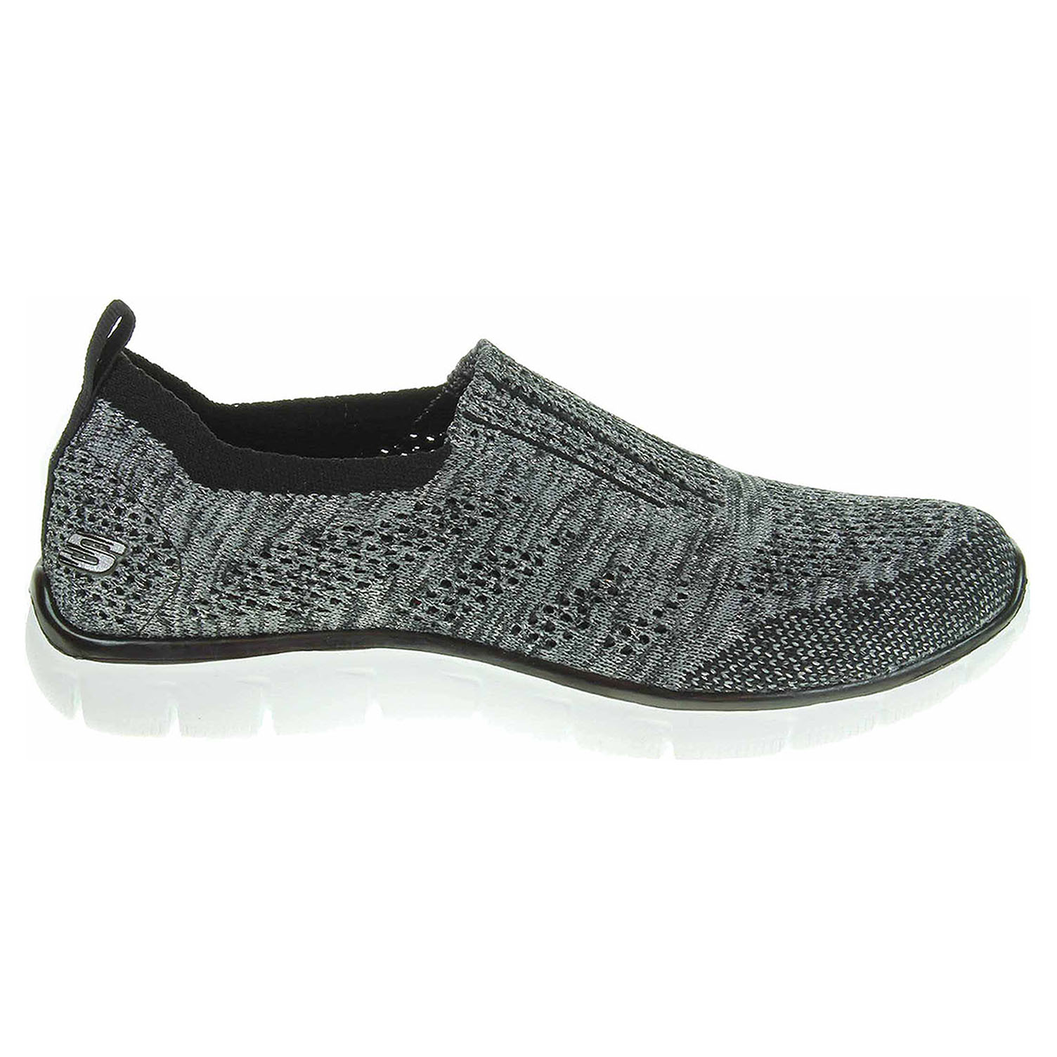 Skechers Empire Round Up black-silver