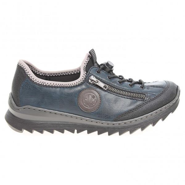 7efb05c7ce6f1 detail Rieker dámská obuv M6269-01 modrá