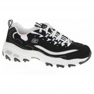 Skechers D´Lites - Biggest Fan black-white