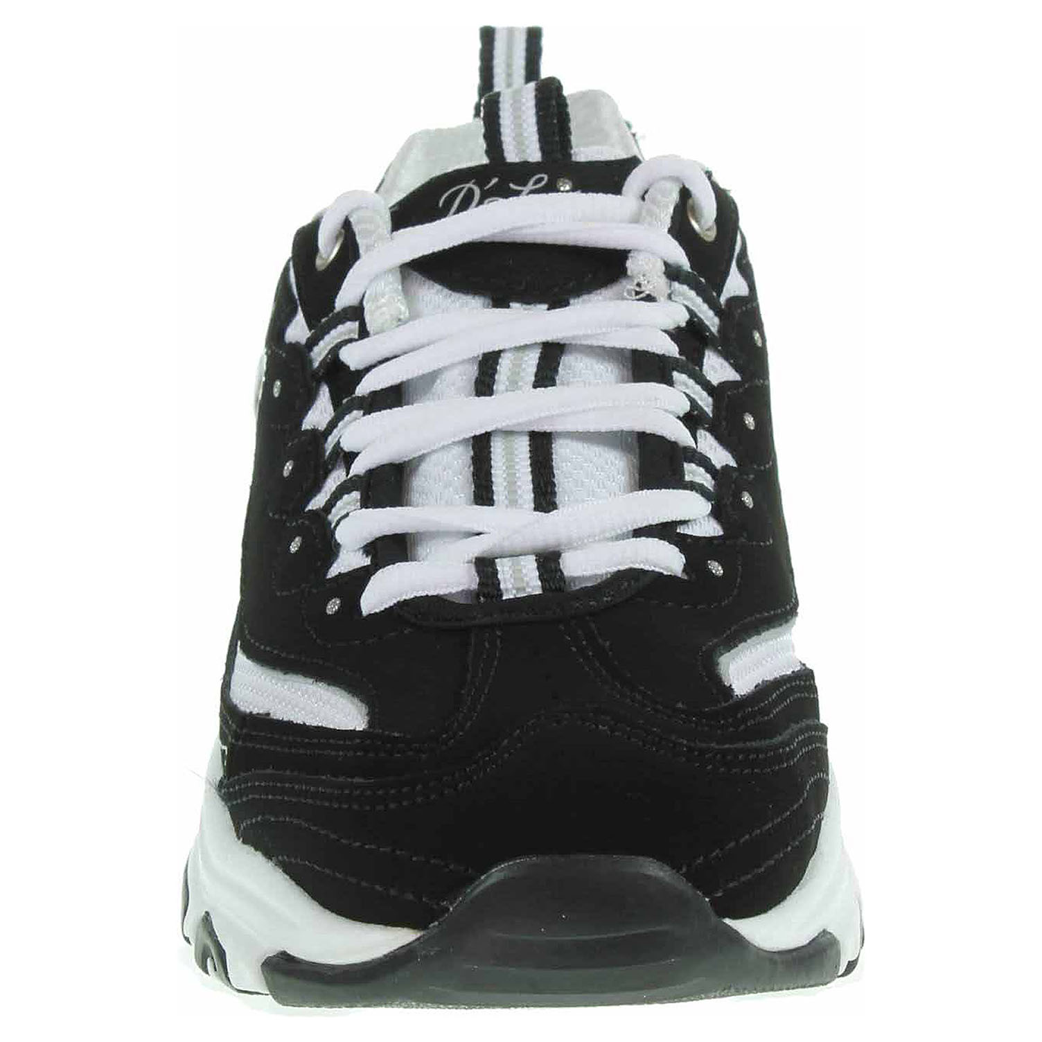 detail Skechers D´Lites - Biggest Fan black-white