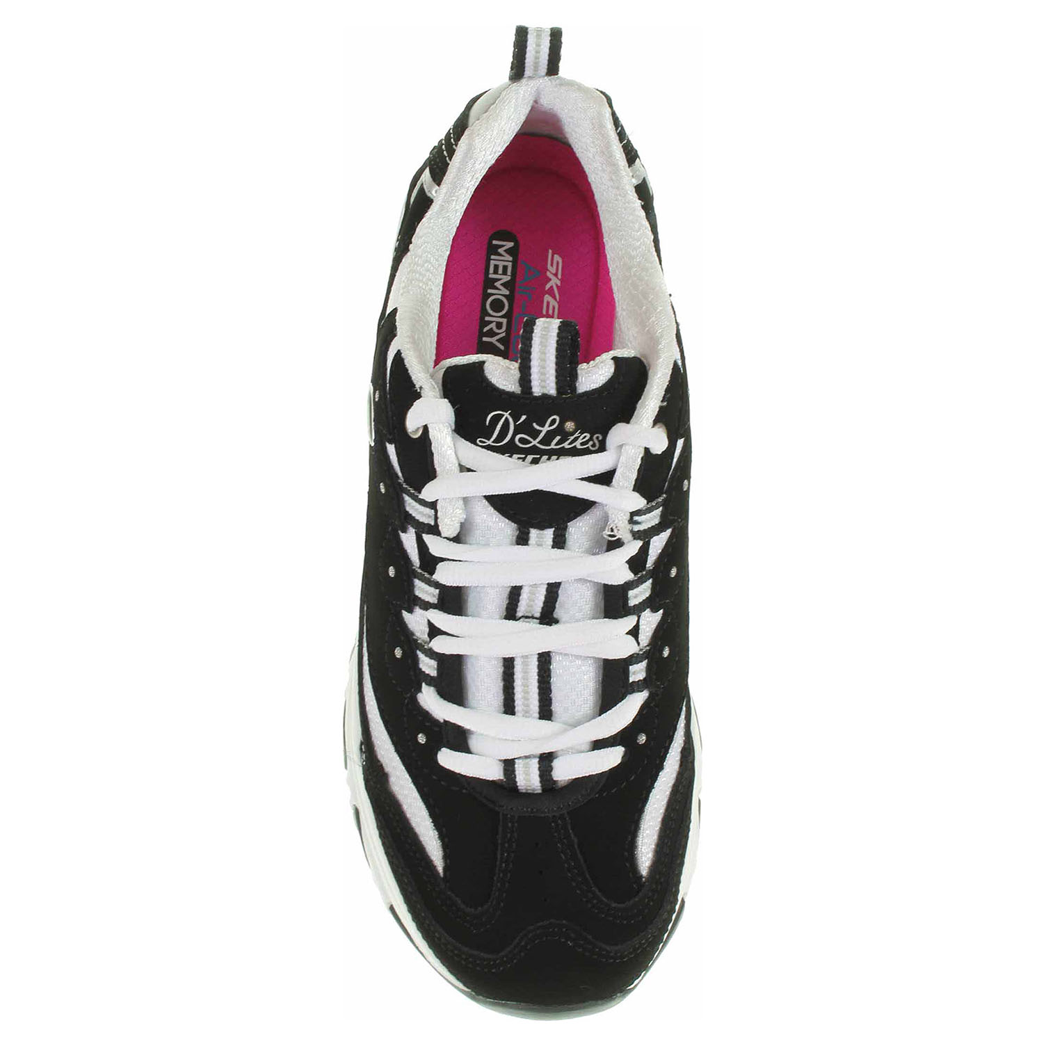 náhled Skechers D´Lites - Biggest Fan black-white