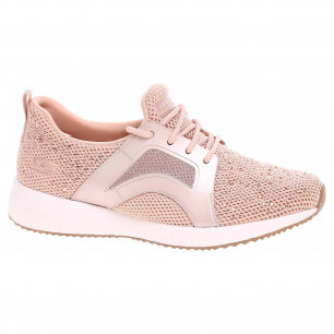 Skechers Bobs Squad - Star Chase rose gold