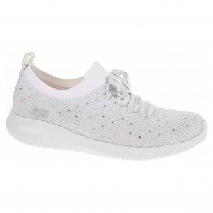 Skechers Ultra Flex - Strolling Out white-silver