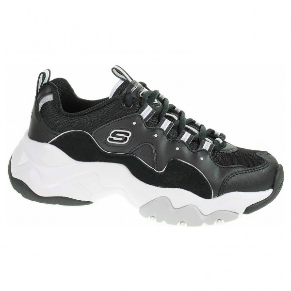 detail Skechers D´Lites 3.0 - Zenway black-white