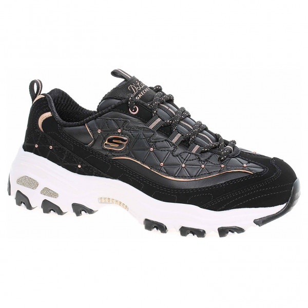 detail Skechers D´Lites - Glamour Feels black-rose gold