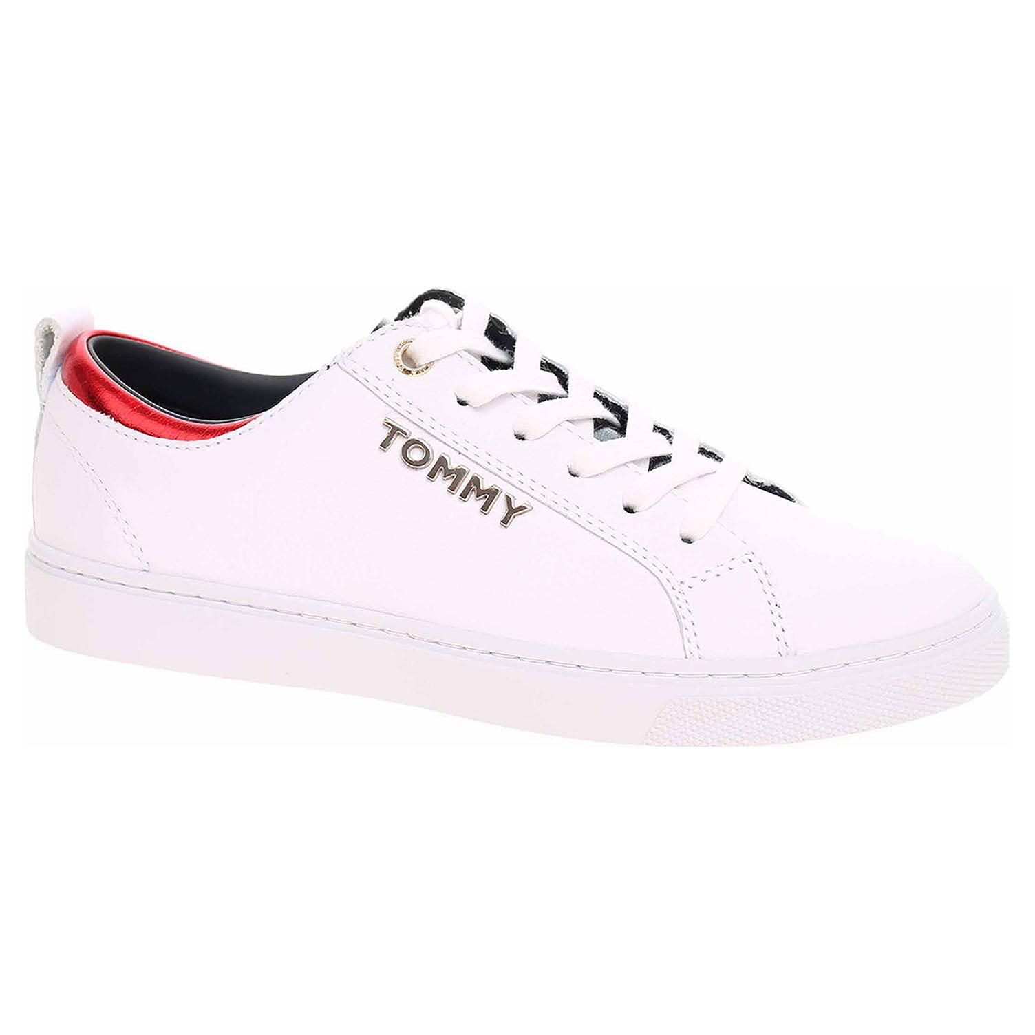 b68a17b3a Dámská obuv Tommy Hilfiger FW0FW03776 100 white | Rejnok obuv