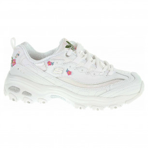 Skechers D´Lites - Bright Blossoms white