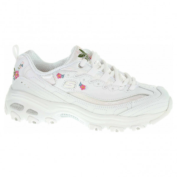 detail Skechers D´Lites - Bright Blossoms white