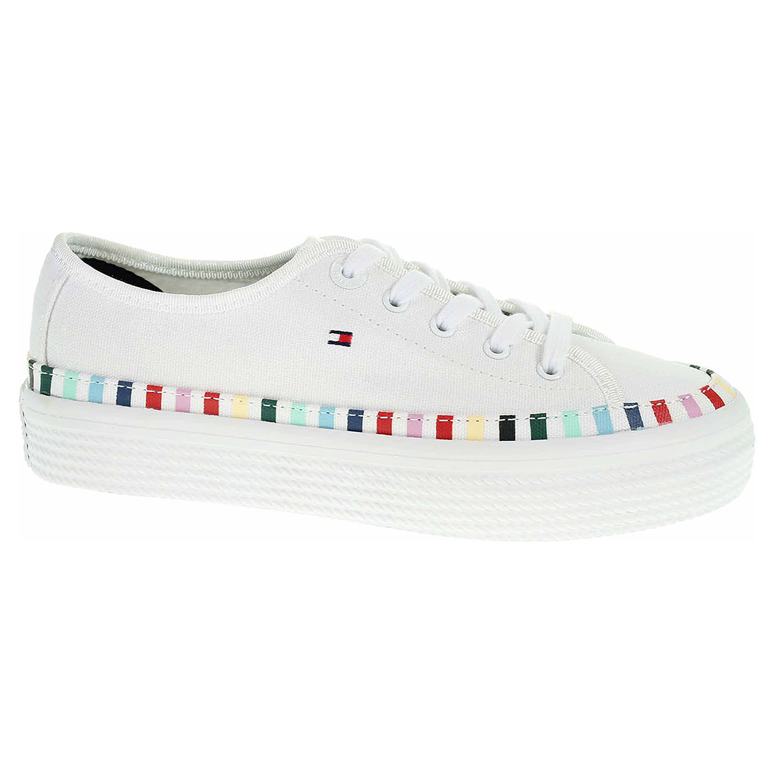 f4726f284 Dámská obuv Tommy Hilfiger FW0FW04069 100 white | Rejnok obuv