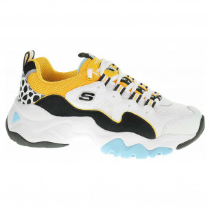 Skechers D´Lites 3.0 - Sea - Islands white-black-gold