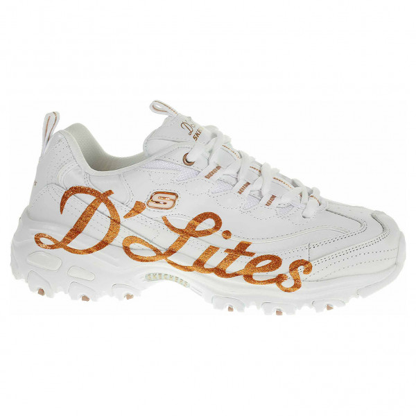detail Skechers D´Lites - Glitzy City white-rose gold