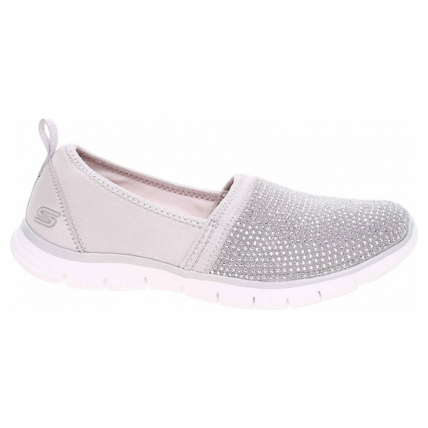detail Skechers Ez Flex Renew - Shimmer Show light gray-silver