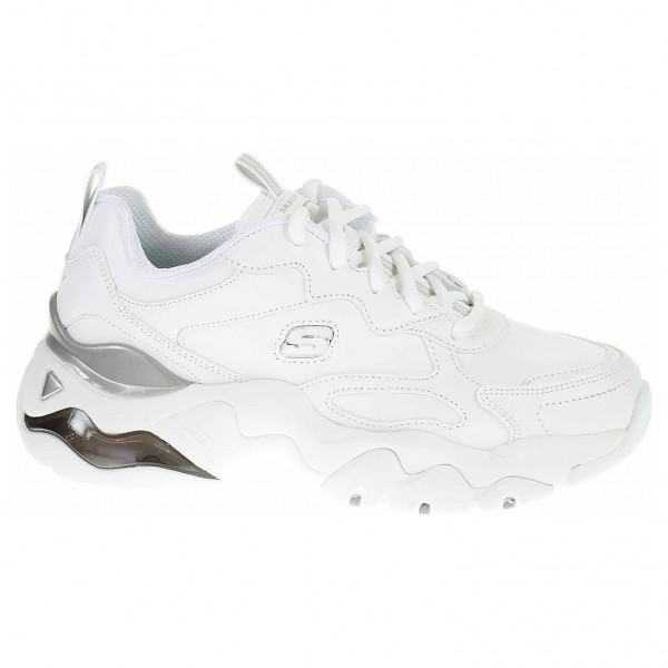 detail Skechers D´Lites 3.0 Air - Golden Rules white-silver