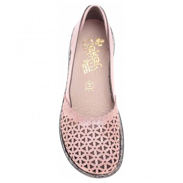 57579cf5cc319 Dámské baleriny Rieker 46387-31 rosa | Rejnok obuv