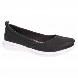 Skechers City Pro - Subtle Shimmer black-white