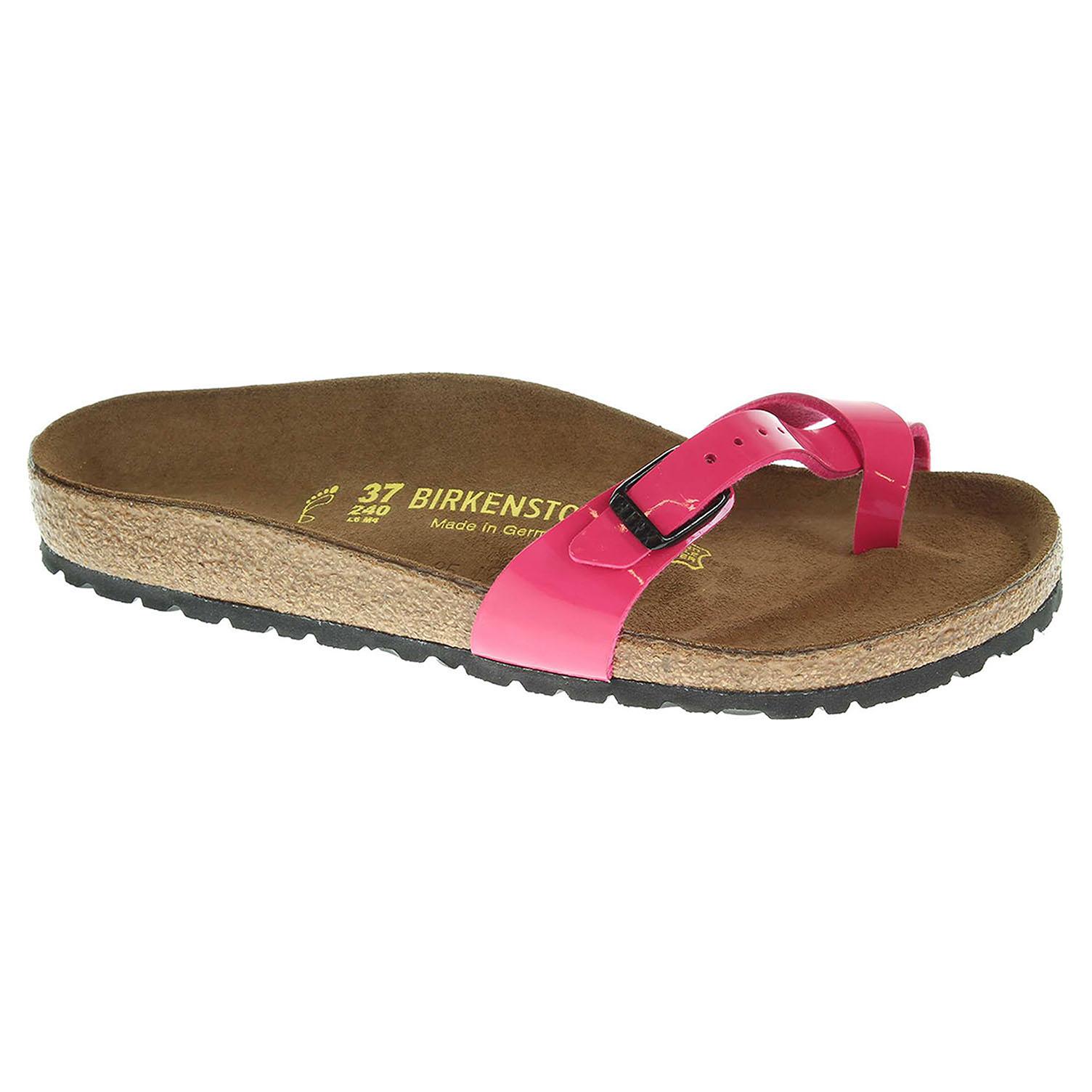 e38011817bc9 detail Dámské pantofle Birkenstock Piazza 417221 růžové