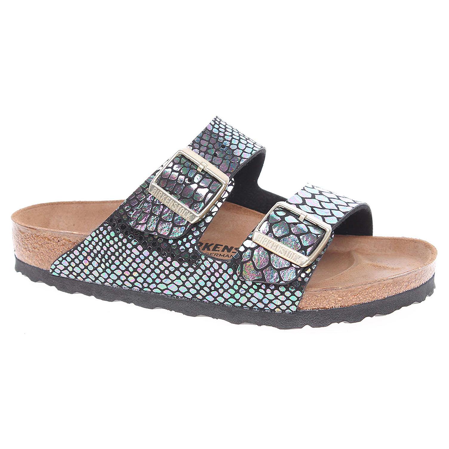 d6776607903c detail Dámské pantofle Birkenstock Arizona 1003462 černá-multi