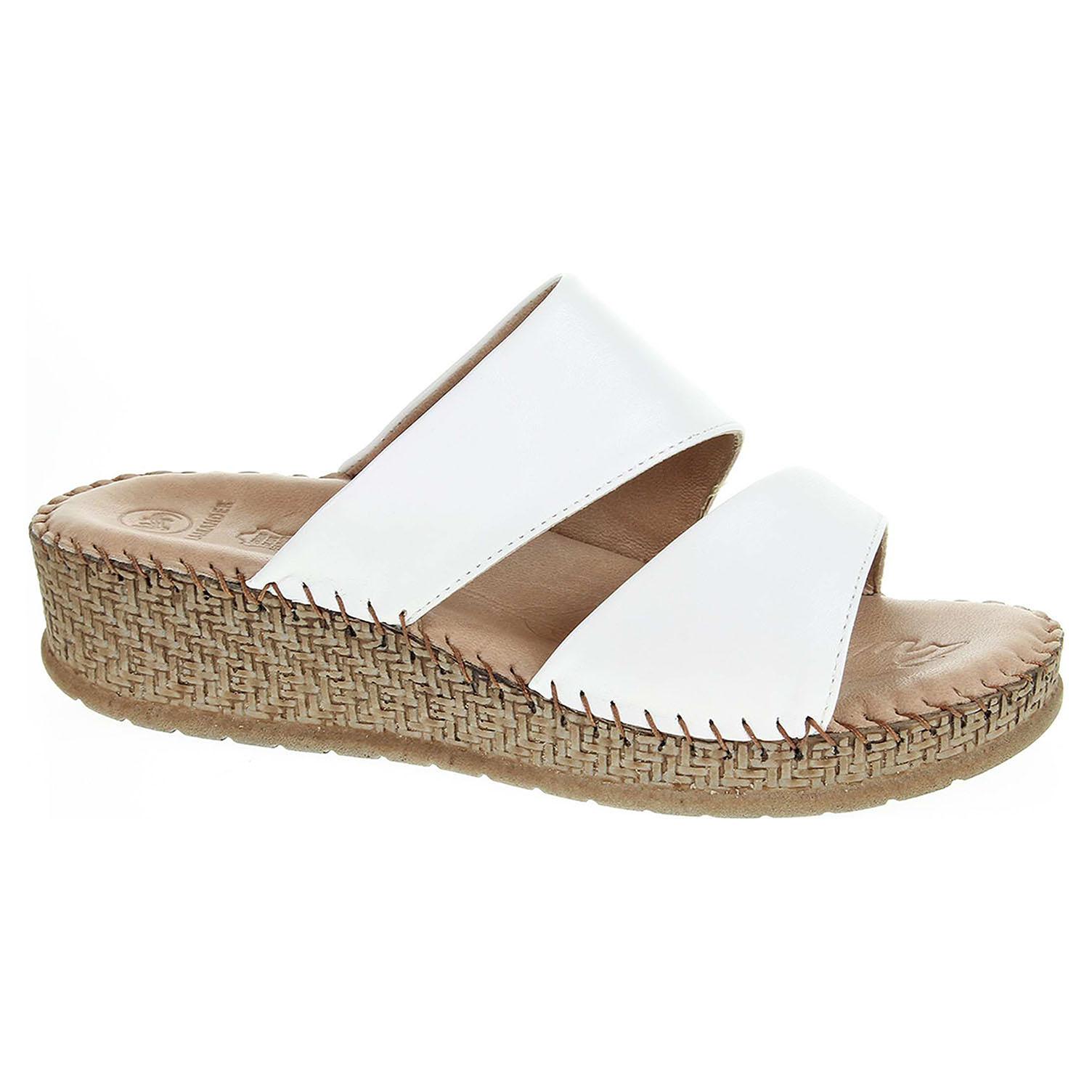 bd395ab2df95 detail Dámské pantofle Salamander 32-40505-40 white