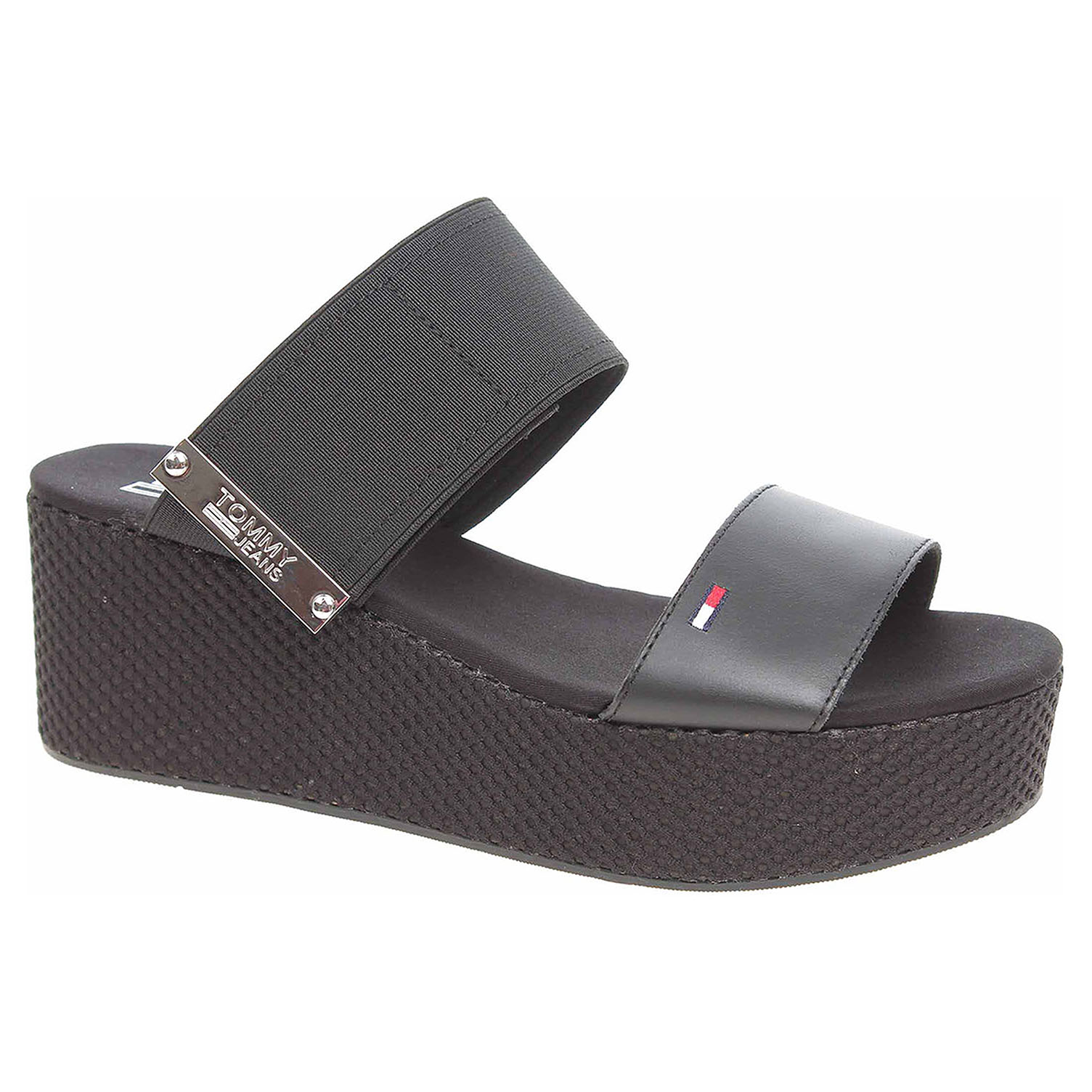 bbda03b79 Dámské pantofle Tommy Hilfiger EN0EN00217 990 black | Rejnok obuv
