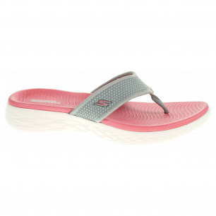 Skechers On-The-Go 600 gray-pink