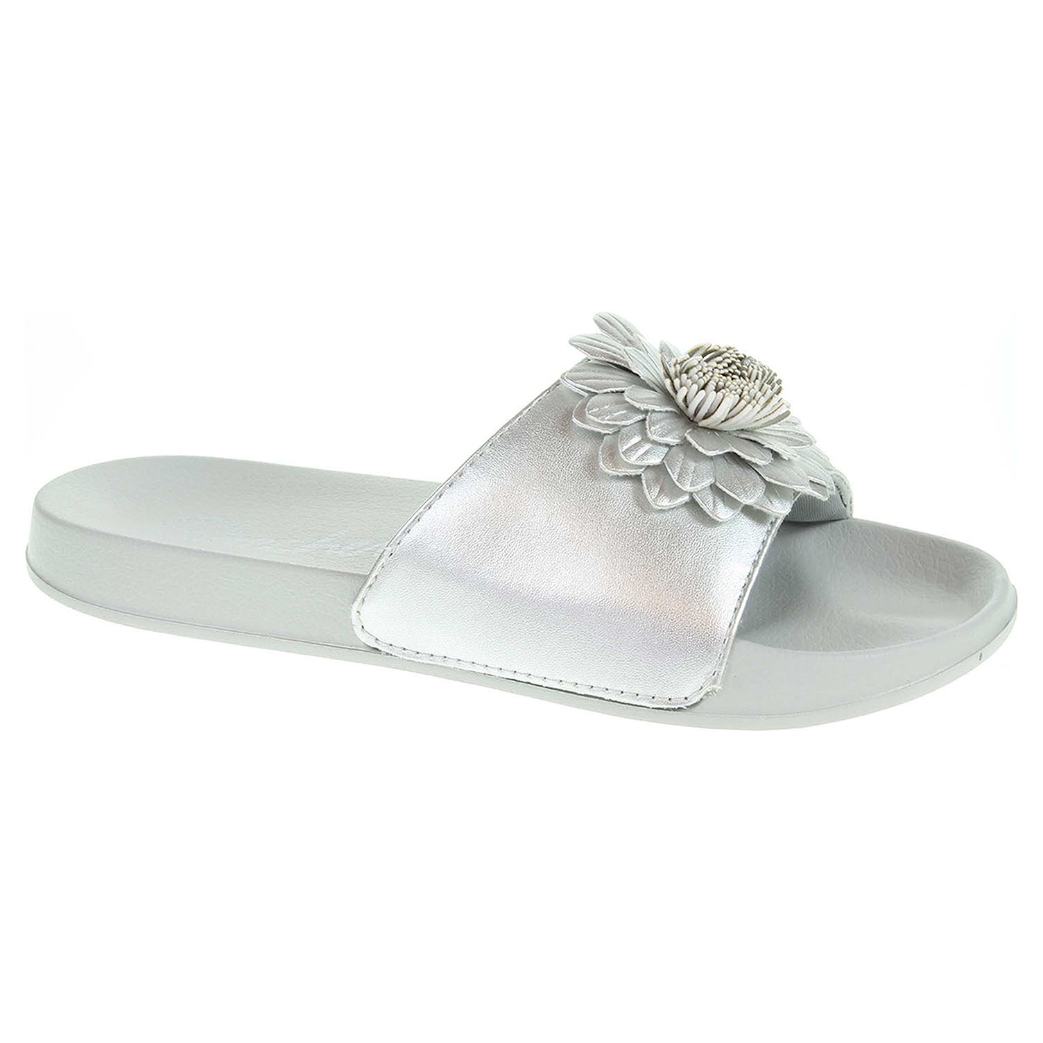 Skechers 2nd Take - Metal Petal silver