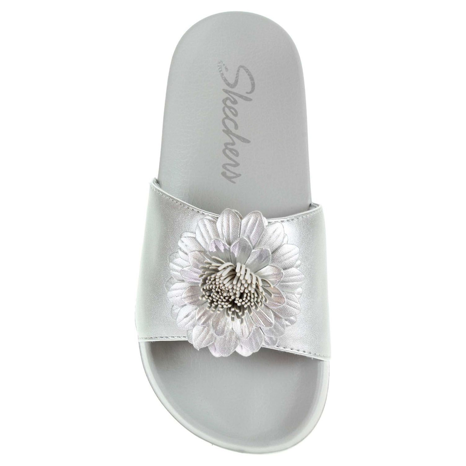 detail Skechers 2nd Take - Metal Petal silver