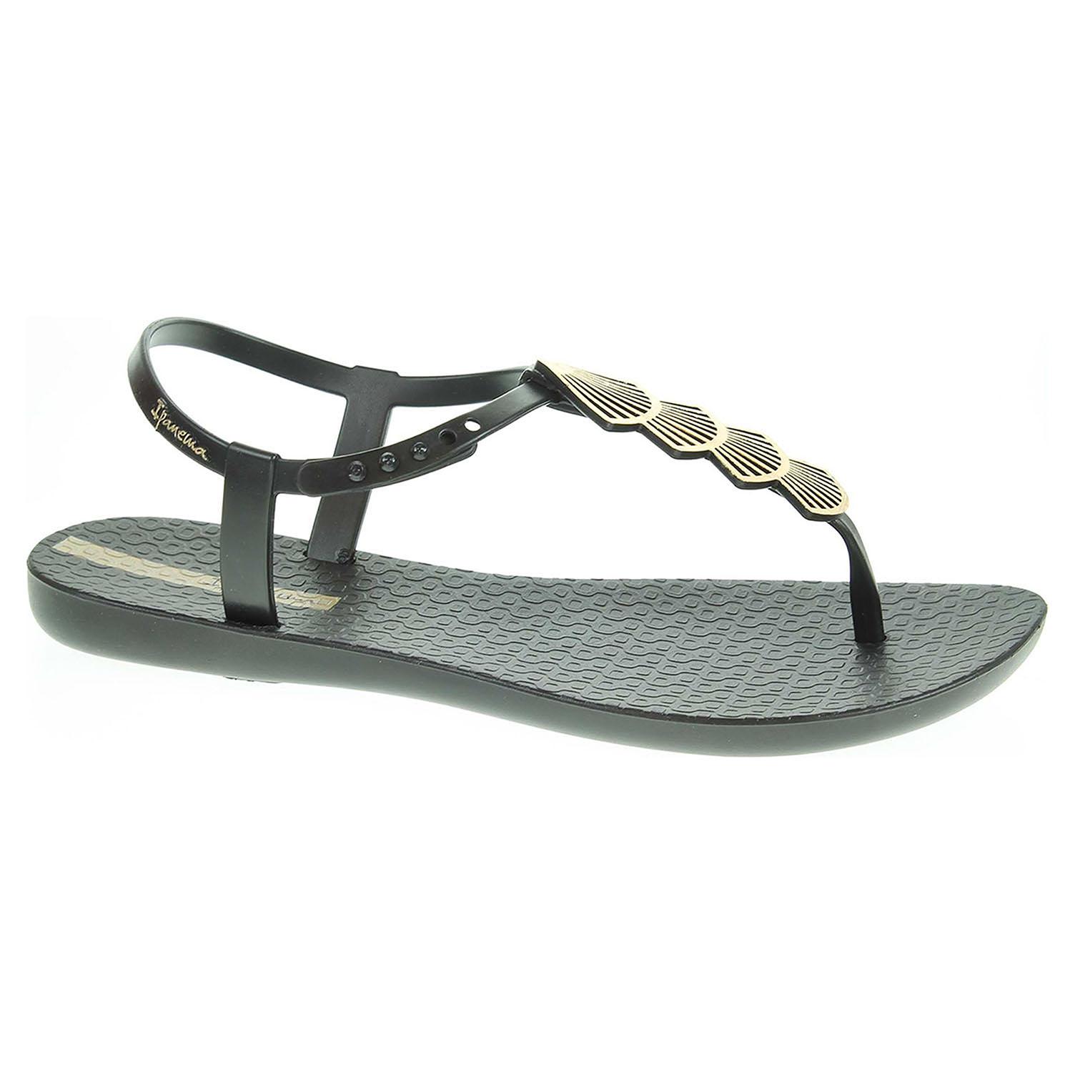 17e6d98ef705 detail Plážové sandály Ipanema dámské 26207 20766 black-black