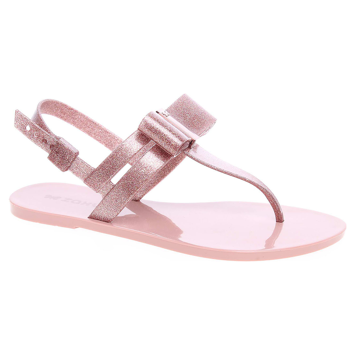 0be595a31562 detail Dámské sandály Zaxy plážové 17201 90290 glitter rose